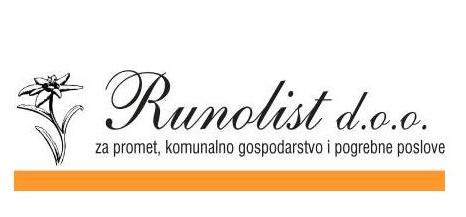 Runolist d.o.o. – obavijest