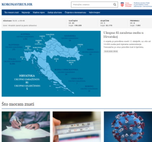 Odluka o privremenoj zabrani prelaska preko graničnih prijelaza Republike Hrvatske