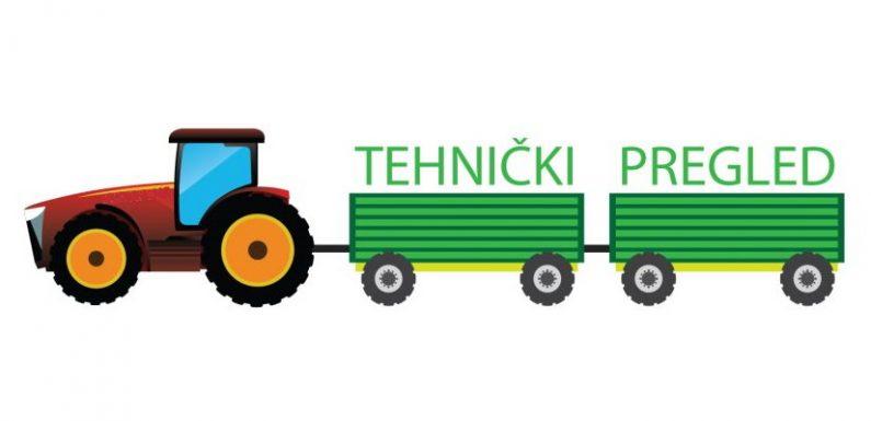 Najava registracija traktora – tehnički pregledi