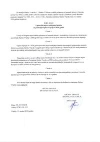 JAVNI POZIV za predlaganje kandidata za dodjelu javnih priznanja Općine Vrpolje