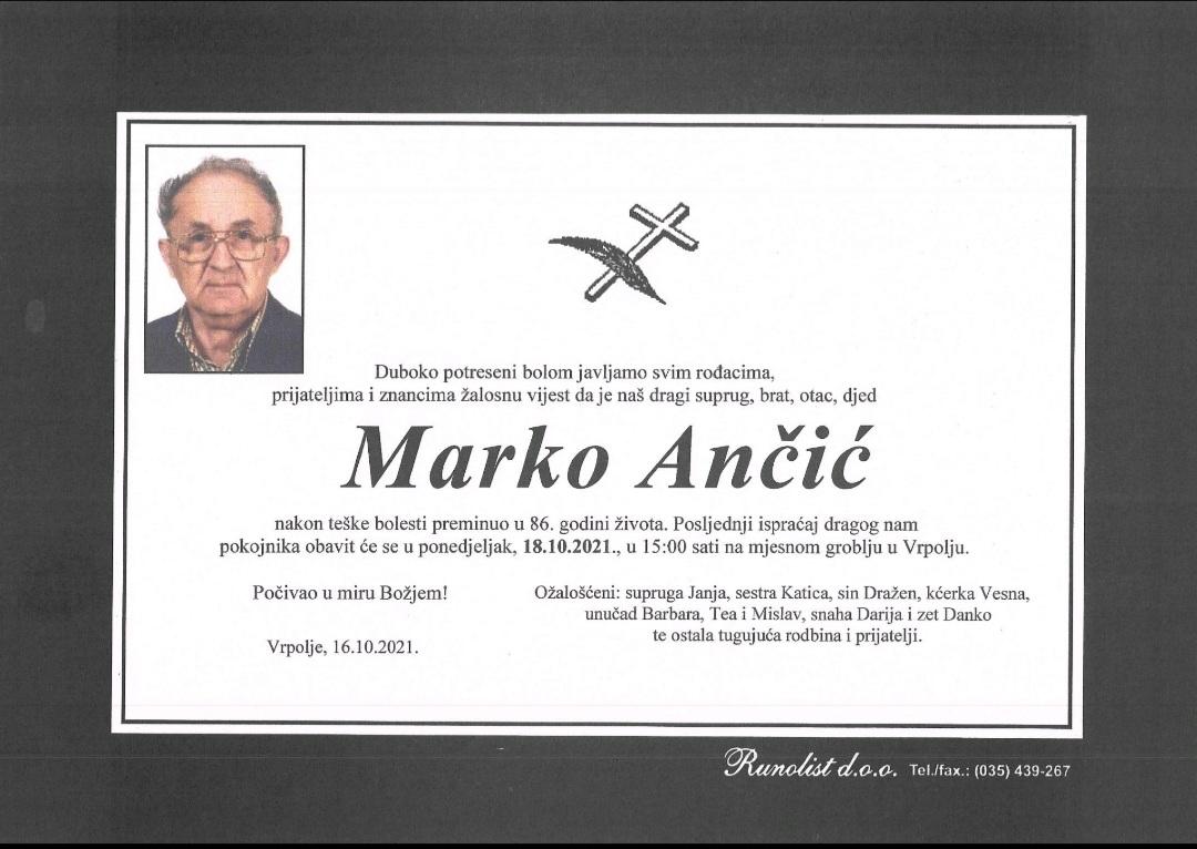 Preminuo prvi načelnik Općine Vrpolje